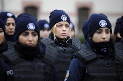 Çevik Kuvvetin Kadın Polislerinden Aksiyon Filmlerini Aratmayan Eğitim