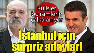 CHP'den İstanbul Sürprizi! Kulisler Bu İki İsimle Çalkalanıyor