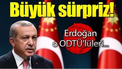 Cumhurbaşkanı Erdoğan O ODTÜ'lüleri Çaya Davet Etti