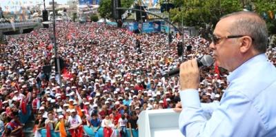 Cumhurbaşkanı Erdoğan'dan Seçime Bir Kala Rekor!