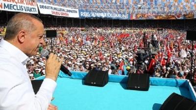 Cumhurbaşkanı Erdoğan'dan Flaş Çıkış: İstihbarattan Bilgi Aldım, İnce'nin Diyarbakır Mitingindekilerin Hepsi HDP'liymiş!