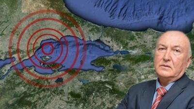 """Deprem Uzmanından Korkutan Açıklama! """"İstanbul'da 7,0 İla 7,2 Büyüklüğünde Deprem Olacak"""""""