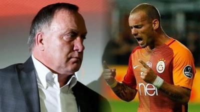 "Dick Advocaat ""Sneijder Fenerbahçe'de Olsaydı…"""
