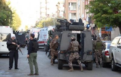 Diyarbakır'dan Acı Haber! 1 Şehit, 9 Yaralı
