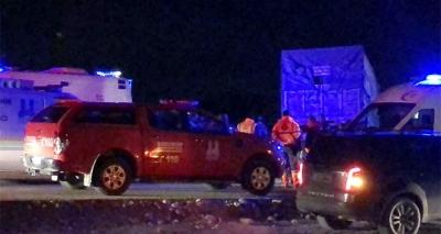 Erzurum'da Korkunç Kaza! Otomobil İle Kamyon Kafa Kafaya Çarpıştı: 4 Ölü, 1 Yaralı