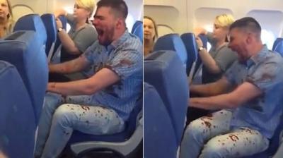 Flaş! Rusya'dan Antalya'ya Gelen Uçakta Skandal Görüntüler