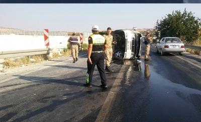 Gaziantep'te İşçi Servisi Yan Yattı: 3'ü Ağır 17 Yaralı