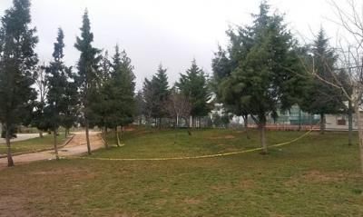 Gaziantep'te Parkta Toprağa Gömülü Cenin Bulundu