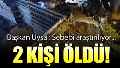 İBB Başkanı Mevlüt Uysal'dan Ümraniye'de Yaşanan Göçükle İlgili Açıklama