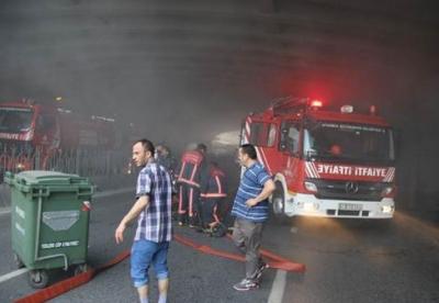İstanbul'da Büyük Yangın! Trafik Kapatıldı