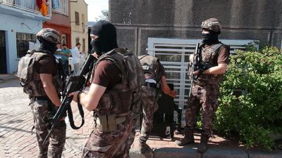 İstanbul'da Özel Harekattan Dev Operasyon