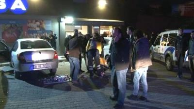İstanbul'da Silahlı Çatışma! Market Soyguncuları 1 Polisi Vurdu