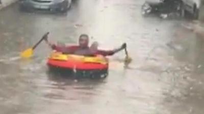 İzmir'de Son Durum! Yağışlar Nedeniyle Köprü Çöktü, İşçiler Kurtarıldı