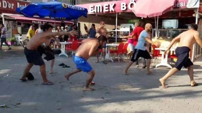 Kafede Başlayan Yer Kavgası Meydan Savaşına Döndü: 7 Yaralı