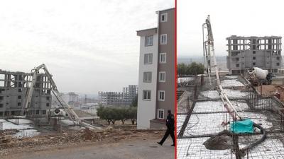 Kahramanmaraş'ta Beton Mikseri Faciası! Demir Boru İşçilerin Üzerine Devrildi: 1 Ölü, 1 Yaralı