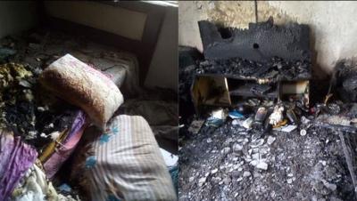 Kahramanmaraş'ta Damat Dehşeti! Kaynanasının Evine Ateş Edip Molotofla Saldırdı