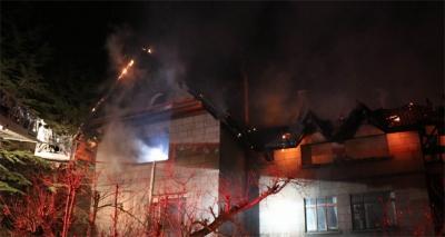 Kayseri'de Çiftlik Evinde Korkutan Yangın