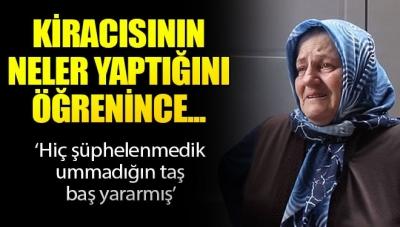 Kiracısının Neler Yaptığını Öğrenen Yaşlı Kadın Gözyaşlarına Boğuldu