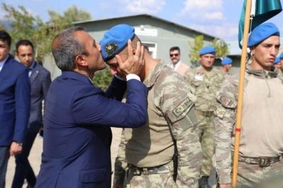Komando Birliği Dualarla İdlib'e Uğurlandı