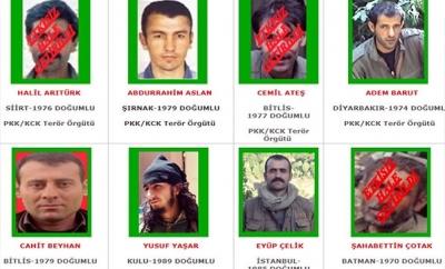 Listedeki Teröristler Bir Bir Öldürülüyor! İşte Fotoğraflarla Kanıtı