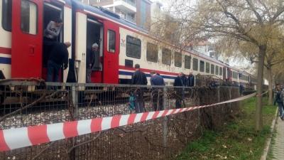 Manisa'da Tren Kazası! 1 Ölü