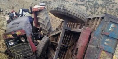 Mardin'de Traktör Devrildi! 1 kişi Öldü, 6 Kişi Yaralandı