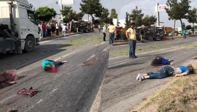 Mersin'de Katliam Gibi Kaza! 3 Kişi Öldü 5 Kişi Yaralandı