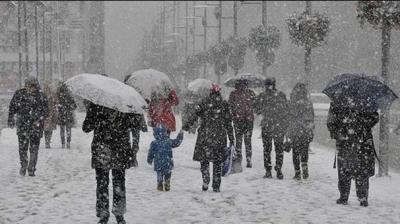 Meteoroloji Yine Uyardı! O Bölgeler Kar Ve Sağanak Yağışa Teslim Olacak