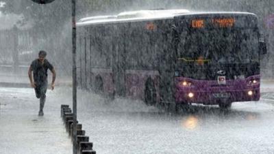 Meteorolojiden İstanbul'a Kuvvetli Yağış Ve Dolu Uyarısı! Yarına Dikkat