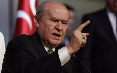 MHP Lideri Bahçeli'den Erdoğan'a Çağrı PKK'nın 5'li Katil Grubunu Başlarına Çuval Geçirip, Bir Gece Ansızın Getirin