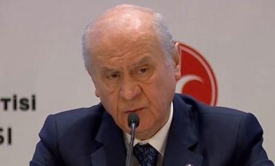 MHP Lideri Bahçeli'den Flaş Hulusi Akar Çıkışı