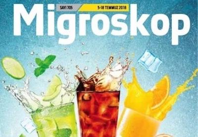Migros Aktüel 5 – 18 Temmuz 2018 Migroskop Dergisi İndirimleri
