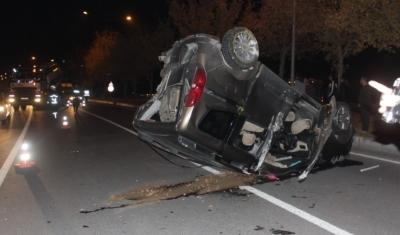 Niğde'de 2 Otomobil Birbirine Girdi! 7 Kişi Yaralandı