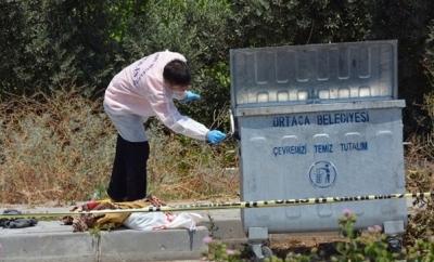 Ortaca'da Vahşet! Çöp Konteynerinde Bezle Boğularak Öldürülmüş Bebek Cesedi Bulundu