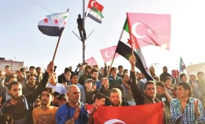 PKK Münbiç'te 1 Yıllık Haraç Topluyor