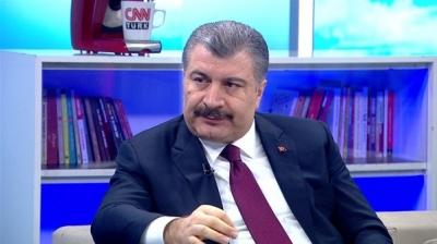 Sağlık Bakanı Dr. Fahrettin Koca Canlı Yayında Açıkladı