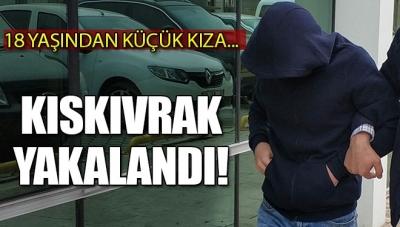 Samsun'da 18 Yaşından Küçük Kıza Cinsel İstismarda Bulunan Zanlı Yakalandı
