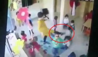 Samsun'da Skandal Görüntüler! Kreşte 6 Yaşındaki Çocuklara Öğretmenlerden Terlikli Dayak