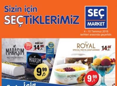 SEÇ Market Aktüel 04 - 10 Temmuz 2018 Haftanın İndirim Kampanyası