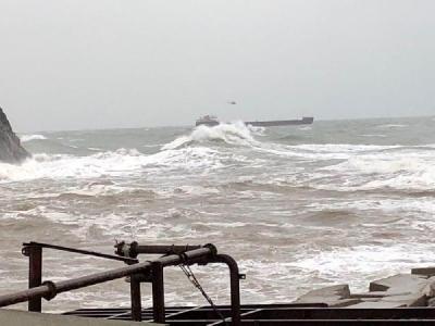 Son Dakika! Bartın Açıklarında Fırtına Rus Gemisini Sürükledi