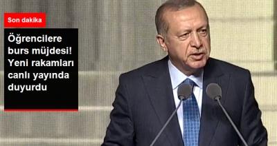 Son Dakika! Cumhurbaşkanı Erdoğan'dan Öğrencilere Burs Müjdesi, 500 Liraya Çıkıyor