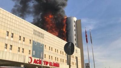 Son Dakika! Gaziosmanpaşa'da Hastanede Yangın Çıktı! Ölü Ve Yaralı Var Mı?