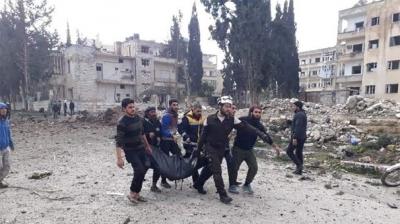 Son Dakika! İdlib'te Katliam, Çok Sayıda Ölü ve Yaralı Var