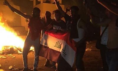 Son Dakika! Irak'ta Polis ve Göstericiler Arasında Çatışma, Ölü ve Yaralılar Var