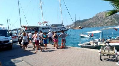 Son Dakika! Marmaris'te Tur Teknesi Battı! Ölü Ve Kayıplar Var
