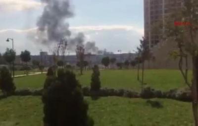 Son Dakika! Tuzla'da Benzin İstasyonunda Yangın Çıktı, Tehlikeli Dakikalar Yaşanıyor