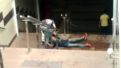 Taksim'de Güpegündüz Yaşanan Dehşet Güvenlik Kameralarına Saniye Saniye Yansıdı
