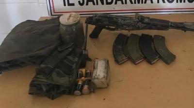 Terör Örgütü PKK'ya Ait Silah ve Mühimmat Ele Geçirildi