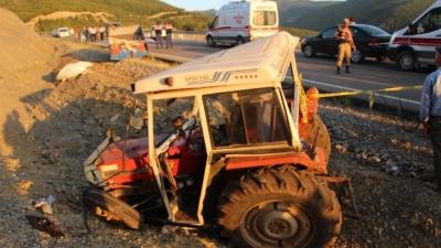Tokat'ta Korkunç Kaza 3 Ölü, 10 Yaralı