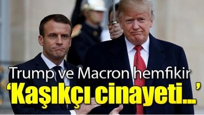 Trump ve Macron'dan Suudi Arabistan'a Kaşıkçı Çağrısı